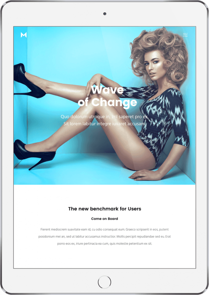 Website Anpassung für Mobile, Handy, Smartphone und Tablet.